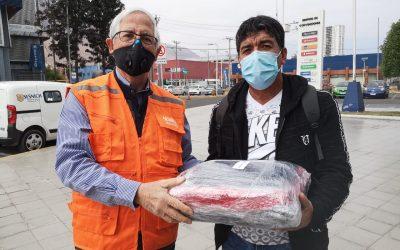 Agencia Sesnich realiza donación a Limpiadores de Autos