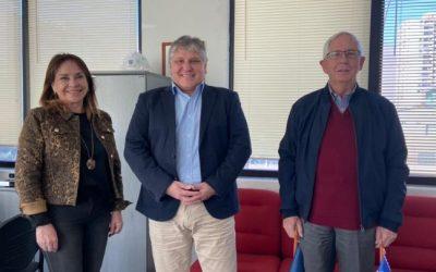 Cámara Aduanera de visita en Iquique: Avances y colaboración recíproca
