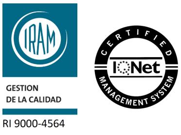 CERTIFICACIÓN ISO 9001:2015 – 2021
