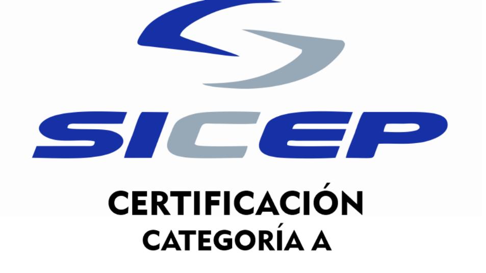 Acreditación SICEP – Categoría A